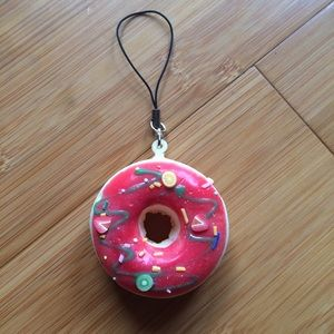 Squishy Donut Keychain : NWT Donut Clear Case & Donut Keychain Bundle ?? For iPhone 5, 5s, or SE from Mandy s closet on ...