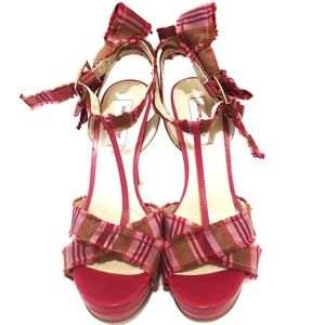 Sophie Theallet Shoes - Sophie Theallet for Nine West Platform Sandals