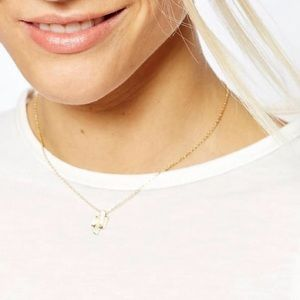 ASOS Jewelry - Mini Gold Cactus Necklace