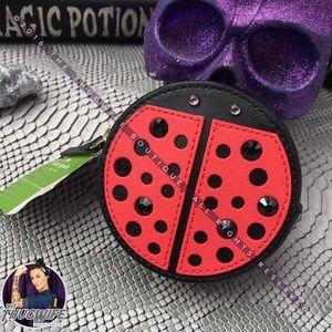 NWT Kate spade ladybug coin purse