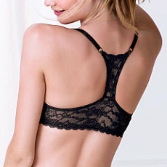 ee0a9f0500461 Victorias Secret size 34D lace racerback Bra. M 57c8c98813302a73c0004bbf