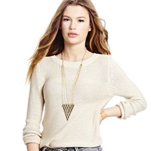 Sweet and simple knit sweater