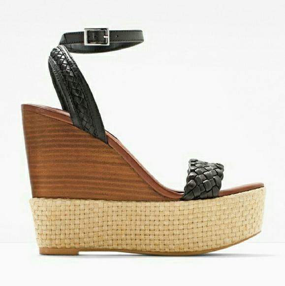 c2a974aa9df3 Braided Wedge Sandals. M 57c8c48ba88e7d3e9b00432f