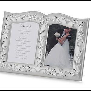 Lenox Opal Innocence Double Invitation Frame