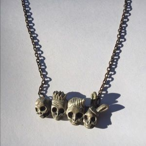 Jewelry - Awesome Scull Necklace