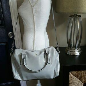 Lodis Handbags - NEW! 🆕 Lodis light Gray Patent leather handbag