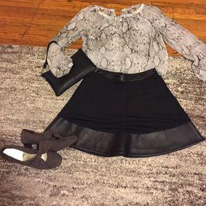 Olsenboye Dresses & Skirts - ⚡️Black Skirt ... Like new
