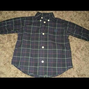 Chaps Long Sleeve Button Down Boys 24 months