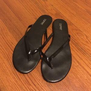 75 off esprit shoes brown esprit wedge sandals from lou. Black Bedroom Furniture Sets. Home Design Ideas