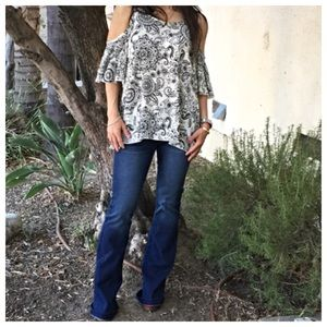 Tops - Off the shoulder tunic sale