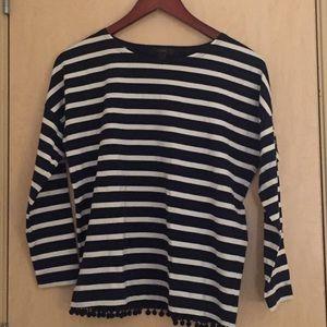 J. Crew Classic striped shirt