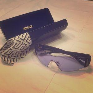 Versace Accessories - Purple and black Versace sunglasses