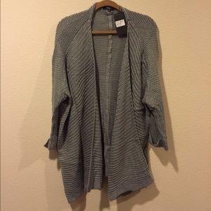 Very J Sweaters - NWT drapey waterfall cardigan open sweater