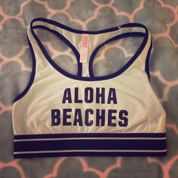 18208f89ec Victoria s Secret pink aloha beaches sport bra. M 57c8eed899086a404200be29