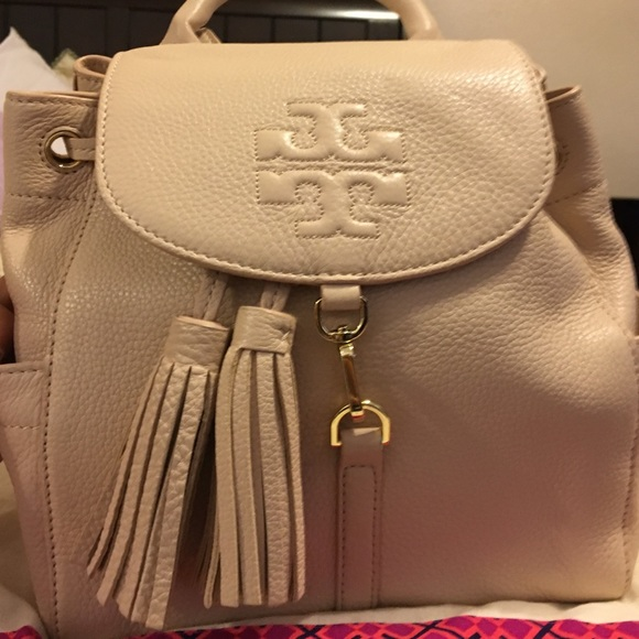Tory Burch Mini Backpack Blush Color
