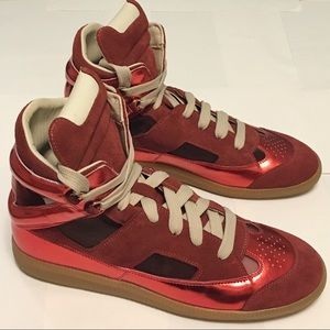 Maison Margiela Other - Mansion Martin Margiela Red high top sneakers rare