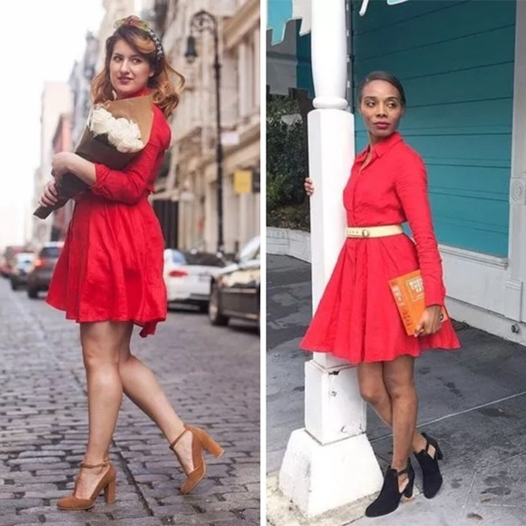 c32dbf7187 Anthropologie Dresses   Skirts - ANTHROPOLOGIE LAILA LINEN SHIRT DRESS HD  IN PARIS