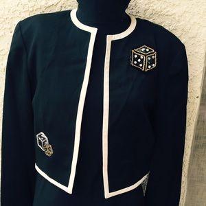 Louis Feraud Cropped jacket