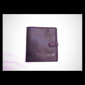 Smashbox cosmetics - black two compartment bag