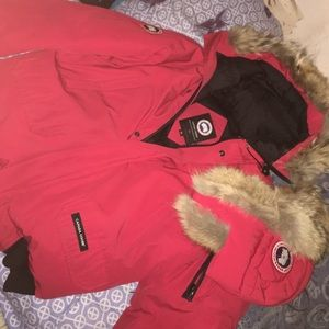 Canada Goose' Chateau Parka Black Men S Small Authentic Down Warm