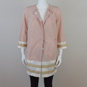 BNWT Pastel Pink Light Weight Coat.