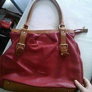 Valentina Italian leather handbag