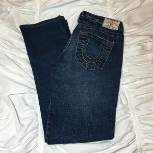 True Religion Denim - True Religion Straight Leg Jeans Size 28