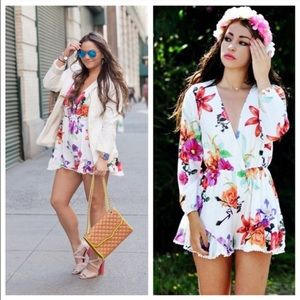 CHOISE Pants - Adorable Choies Floral Romper