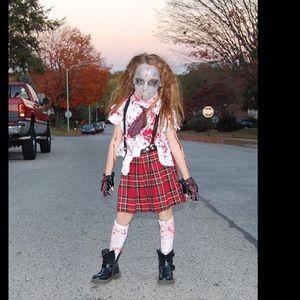 Other - Zombie Halloween costume girls