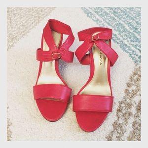 Ann Marino Shoes - Ann Marino red heels size 8