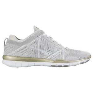Nike Flynit 5.0 metallic sneakers