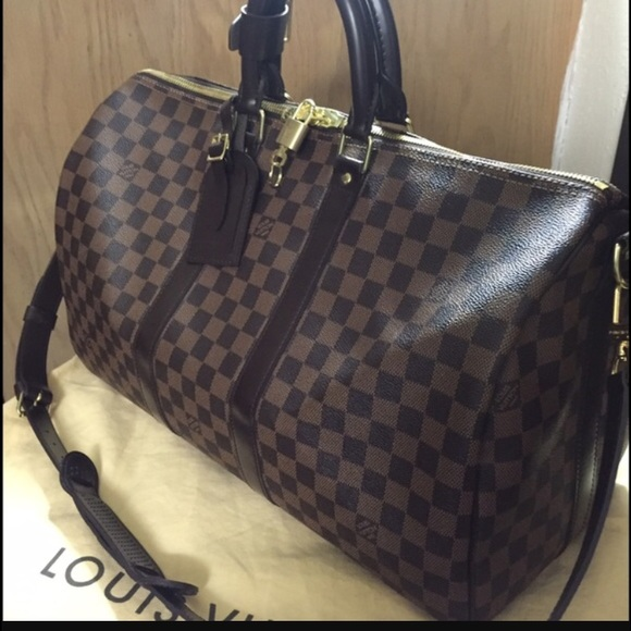 Louis Vuitton Handbags - KEEPALL BANDOULIÈRE 45 DAMIEN PRINT 2adb2e9ab8e34