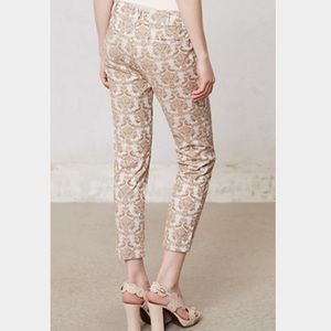 Cartonnier Charlie Pants in Gold Brocade