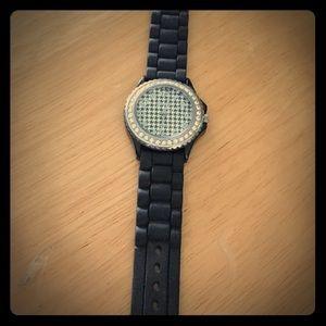 Geneva Platinum Accessories - Geneva fashion Watch - black (needs new battery)