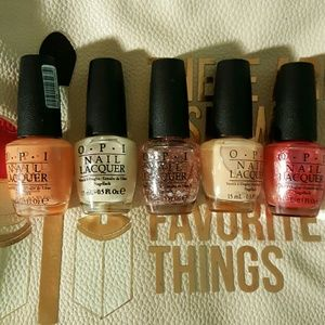 OPI nail polish bundle