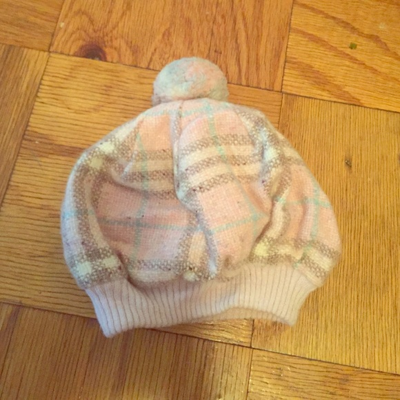 eb5dc01e466 Burberry Accessories - Authentic Burberry baby pink plaid hat