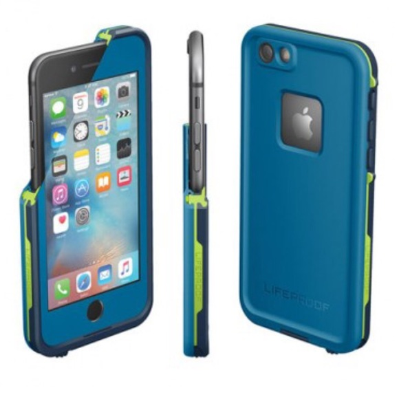 on sale 633ef 9a9ef iPhone 6 blue and green LifeProof case