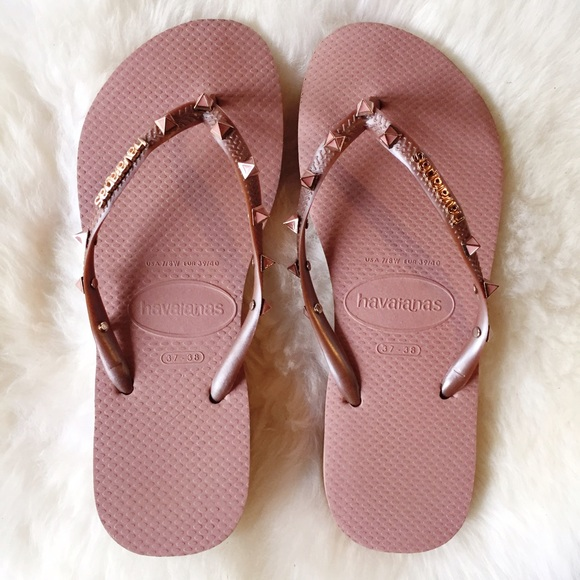 8ec1b4dddc24cf Havaianas Shoes - Havaianas Pink Spike Flip-Flops