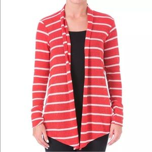 Pure Karma Red/White Striped Sweater! NEW!