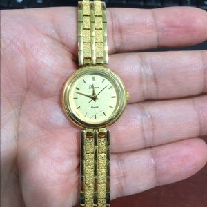 Accessories - Pamex Women's Gold Tone Stainless Steel Watch
