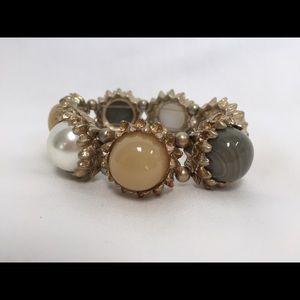 Stone/marbles bracelet