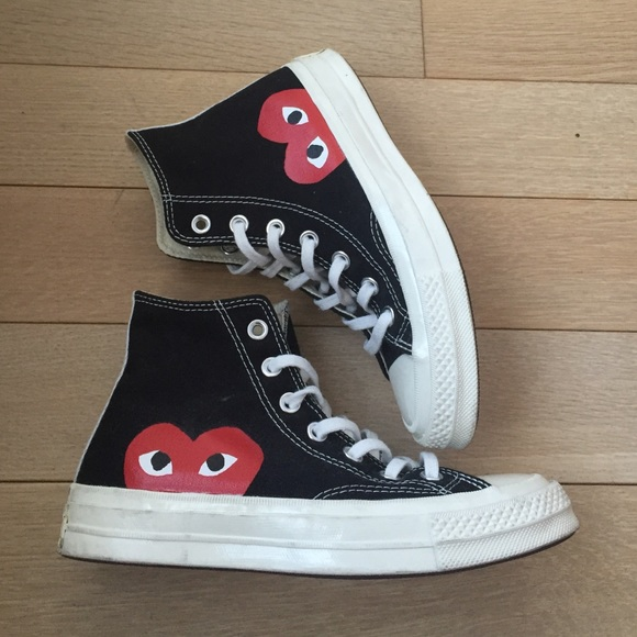 a4c6b26b4889 Comme des Garcons Shoes - CDG x Converse Play - mens sz 4 women s US