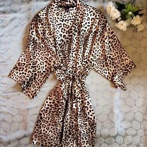 Cheetah Print Victoria Secret Kimono Robe