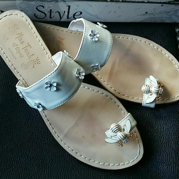 c3c6685e0f870 Miss Trish of Capri Bee sandal. M 57c9ef1b3c6f9f8c91004c38