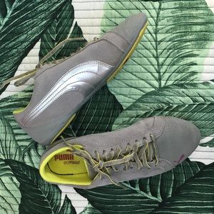 Puma Shoes - Pumas with subtle floral pattern on toe