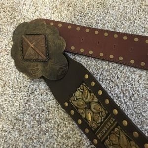 Chico's Accessories - Genuine Leather Embellished Belt
