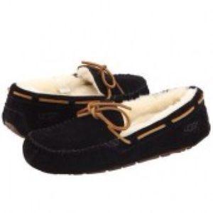 UGG Shoes - UGG Black Moccasins