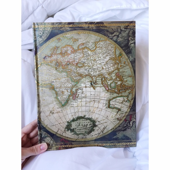 Urban outfitters accessories world map sketchbook poshmark world map sketchbook gumiabroncs Images