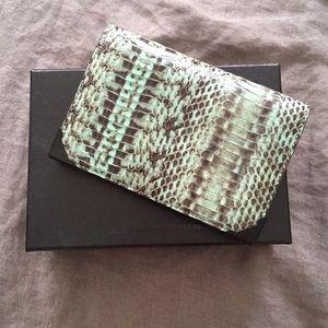 Alexander Wang Handbags - Alexander Wang 'Prisma' snakeskin wallet/clutch