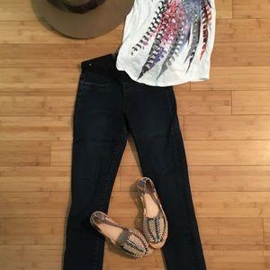 Helmut Lang Denim - Helmut Lang Mid-rise Skinny Jeans